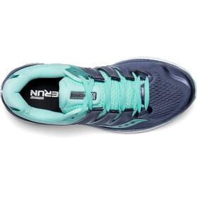 saucony Hurricane ISO 4 Shoes Women Grey/Aqua